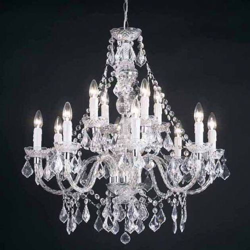 12-Light Clear Light Fitting 308-8+4CL